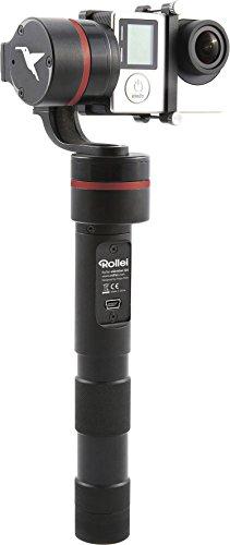 Rollei eGimbal G4 3-Achsen Steadycam Stabilisator mit geräusch-/bürstenlose Motoren für GoPro Hero 3/3+/4