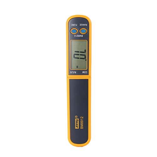 Footprintse BM8912 Smart SMD Tester Widerstand Kapazität Diode Digital-Multimeter Mini Meter Probe Test Clip Pinzette Auto Scanning-Farbe: Gelb und Grau