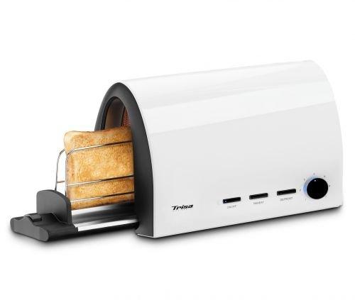 Trisa Electronics Toast & slide Grille-pain, 950 W, Blanc