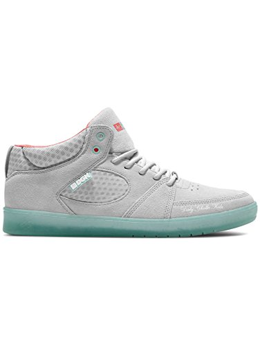 Skate shoe Men es Accel Slim Mid x Dgk skate scarpe, grey/blue, 7.5 grey/blue