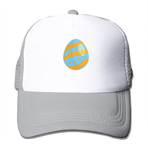 Bgejkos Orange and Blue Egg Men Women Sports Hat Cap Golf Cap Running Tennis Cap