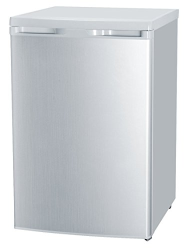MEDION MD 13854 Kühlschrank, Nutzinhalt: 130 Liter, Klimaklasse STN, Kühlmittel R600a, wechselbarer Türanschlag, EEK A, silber