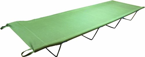 Highlander Camp Bed - Olive