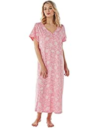 Ladies Long Plus Size Jersey Nightshirt in Assorted Prints. Sizes 14-16  18-20 22-24 26… d786a69a7