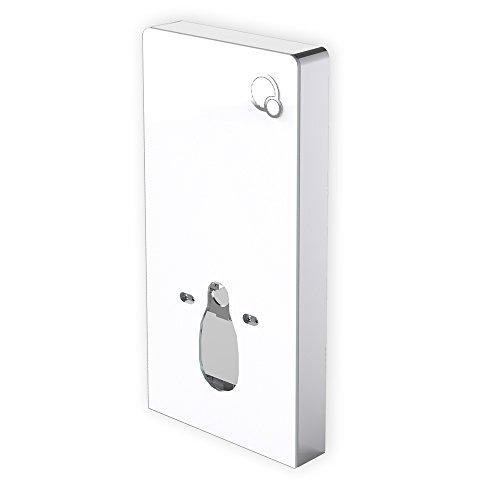 Bernstein Badshop Sanitärmodul 805 für Wand-WC - Weiß - Inkl. Betätigungsplatte