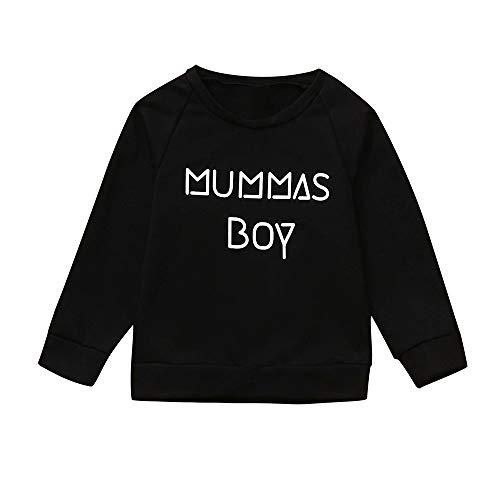 Baby Hoodie,Beikoard Kinder Langarm-Brief Pullover Sweatshirt Kleinkind Scherzt Baby-Mädchen...