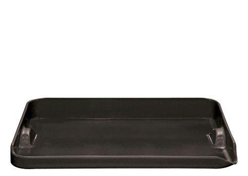 Emile Henry Grillplatte, schwarz, 43,5 x 36 x 8,6 cm, 797546