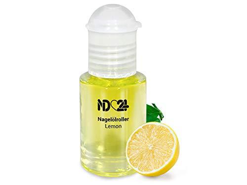 Nagelölroller Lemon - 6ml - als praktischer Roller - Nagelhaut-Öl Nagelpflege-Öl Nagelhautpflege-Öl