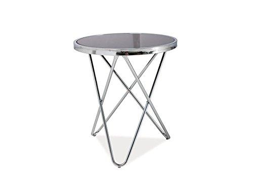 couchtisch glas chrom rund 2017 vergleiche und bestellen der besten produkte. Black Bedroom Furniture Sets. Home Design Ideas