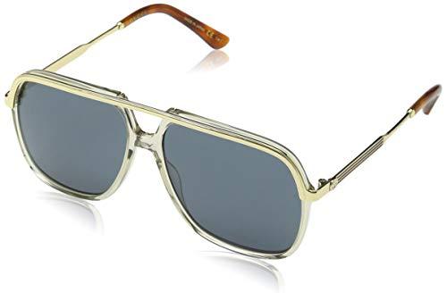 Gucci GG0200S 004, Montures de Lunettes Mixte Adulte, Marron (4 Bluee) 0d11a9ce424d
