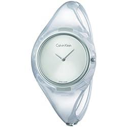 Calvin Klein K4W2MXK6 - Reloj de pulsera mujer, plástico