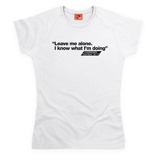 Kimi Raikkonen T-Shirt, Damen Wei