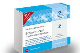 Schwermetall Trinkwasseranalyse Medivere -
