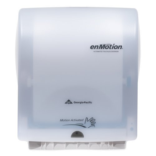 georgia-pacific-enmotion-59407-classic-automated-touchless-paper-towel-dispenser-translucent-white-b