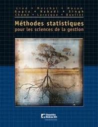 Méthodes statistiques pour les sciences de gestion (1Cédérom)