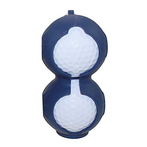 Naisidier Golfball-Silikon-Kugel Sleeve Schutzhülle Tasche Golf-Zubehör Sport-Zubehör PC 1 (Farbe Blau) Langlebig und verdient Ihren Besitz