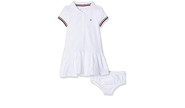 Tommy Hilfiger Baby Polo Dress SS, Robe Bébé Fille: Amazon