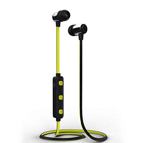 DANGSHUO Auriculares inalámbricos Bluetooth 5.0 Estéreo con cancelación de Ruido Auriculares estéreo con micrófono de Alta fidelidad Incorporado para Deporte