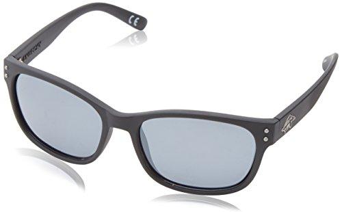 Anarchy Men's Vert Polarized wayshape Sunglasses,Black Rubberized,55 mm