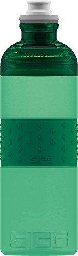 SIGG Trinkflasche HERO Green, Sport Trinkflasche, 0.6 L, Squeezable, Polypropylen, BPA frei, Grün