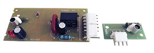 New 4389102W10757851adc9102ap5956767Ice Maker Control Board Kit für Whirlpool Emitter Sensor–1Jahr Garantie