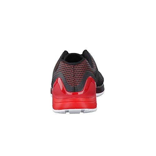 Reebok Bd2832, Chaussures de Tennis Homme Noir (Black / Primal Red / White / Lead)