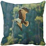 nicholascgshoponline-c5178f-cotton-linen-decorative-throw-pillow-case-cushion-cover-falcon-18-x18-