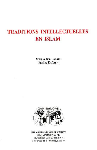 Traditions intellectuelles en Islam