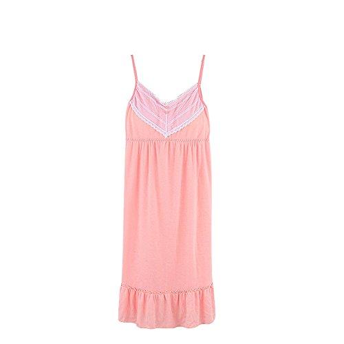 Damen Schlafanzug Pyjama Set Nachtwäsche Set Zweiteiliger Schlafanzug 4(150-165cm)
