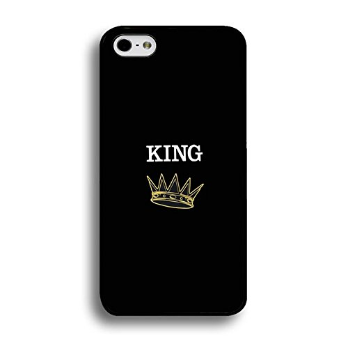 Fashion Camouflage Design King Queen Couple Phone Case Cover Solid Skin Protetive Shell for Iphone 6/6s 4.7 (Inch) King Queen Lovers Classic Color220d