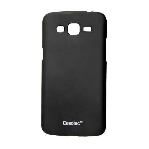 Casotec Ultra Slim Hard Shell Back Case Cover w/ Screen Protector for Samsung Galaxy Grand 2 - Black  available at amazon for Rs.125