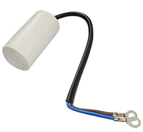 Preisvergleich Produktbild Aerzetix: Permanent working capacitor for 8F 450V pre-wired motor Ø35x60mm ± 5% 3000h C18682