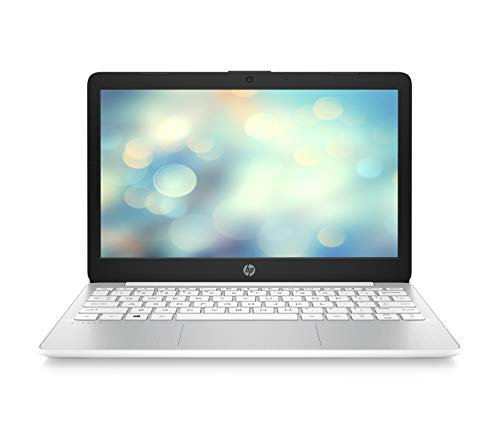 HP Stream 11-ak0001ng 29,5 cm (11,6 Zoll HD) Notebook (Intel Celeron N4000, 4GB DDR4 RAM, 32GB eMMC, Intel UHD Grafik, Windows 10 Home) weiss (Hp Chromebook Laptop)