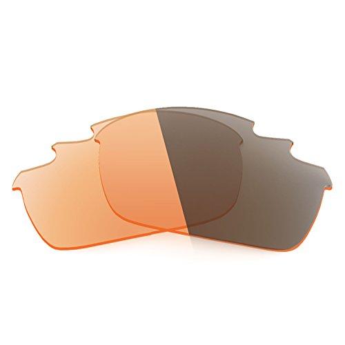 Revant Ersatzlinsen für Oakley Flak Jacket Vented Elite Adapt Orange Fototrop