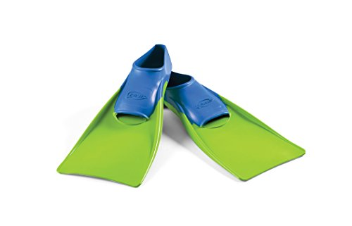FINIS Kinder Swim Fin Floating - 8-11, blue/lime green, 1.05.037.01