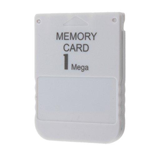 Video-spiel-speicher-konsole (Jinto 1MB Speicherkarte für PlayStation 1PS1PSX Spiel)