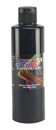 Createx Black 5051 Illustration Farbe 240ml schwarz Airbrush Farbe -