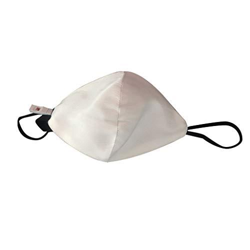 Zu Kostüm Halloween Bunte - Blinkende Maske LED Maske für Männer Frauen Bunte leuchtende leuchten Masken für Raves Cosplay Partys Karneval Halloween Maskerade (Weiß)