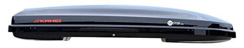 Kamei Dachbox Oyster 450 schwarz-metallic