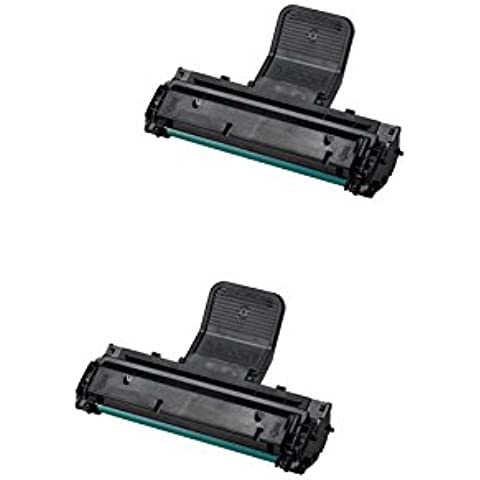 ML-1610 Printing Saver pack de 2 cartuchos de toner laser SAMSUNG ML-1610, ML-1610P, ML-1615, ML-1650, ML-2010, ML-2010P, ML-2010R, ML-2015, ML-2510, ML-2570, ML-2571, ML-2571N, SCX-4321, SCX-4321F, SCX-4521, SCX-4521F