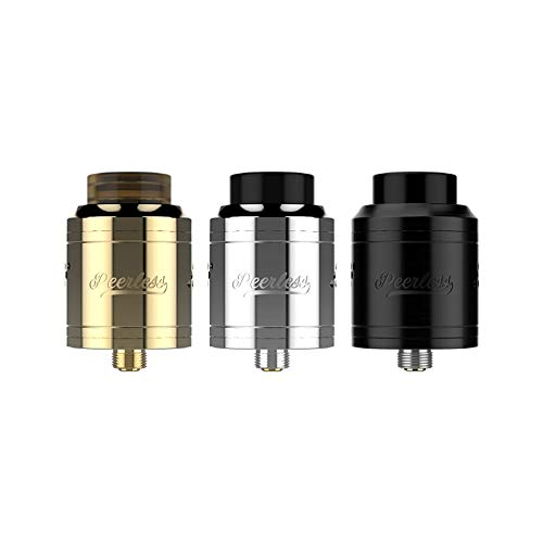 Geekvape Peerless RDA Tank 24mm Atomizador de cigarrillo electronico (Black)