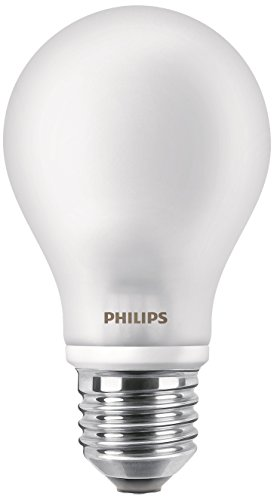 Philips Lighting Standard LED-Glühbirne Licht Kaltweiß E27, 8.5W, 2Stück