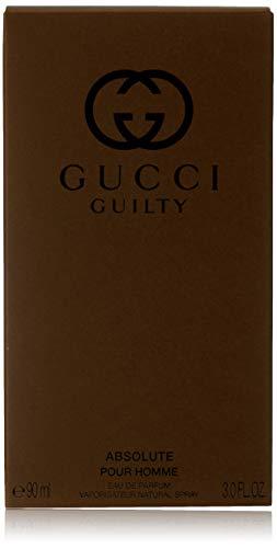 Gucci guilty absolute eau de profumo uomo spray  -  90 ml