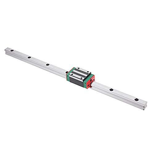HGR15 Lineare Schienenführung mit HGH15CA Linearschiene Führungsschiene mit CNC-Teilen, 300mm, 1