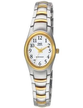 Lucardi - Q & Q - Q & Q Armbanduhr F279J404Y für Damen - Edelstahl