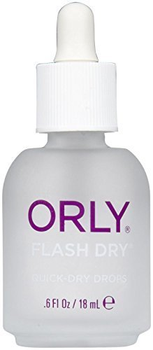 Orly Flash Dry Drops Nail Base Coat, .6 Ounce by Orly