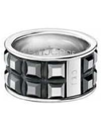 Calvin Klein KJ37AR010206 - Anillo de mujer de acero inoxidable (talla: 12)