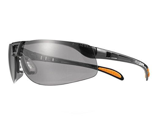 Honeywell 1015353 Protege Safety Glasses-TSR -Black/Grey
