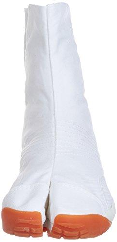 Jikatabi Schuhe mit Luftkissen (Air Jog) 6 Clips - Direkt aus Japan (Marugo) Weiß