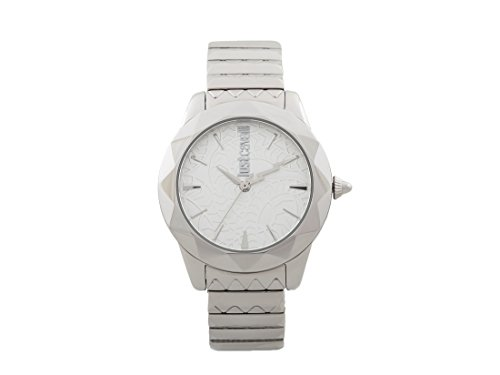 Just Cavalli Womens Analogue Classic Quartz Watch with Stainless Steel Strap JC1L003M0055